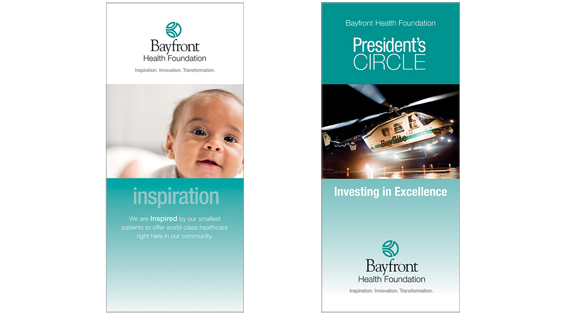 Introduction and Donor program brochure covers