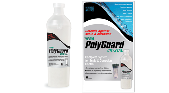 Package design – Polyguard crystals system